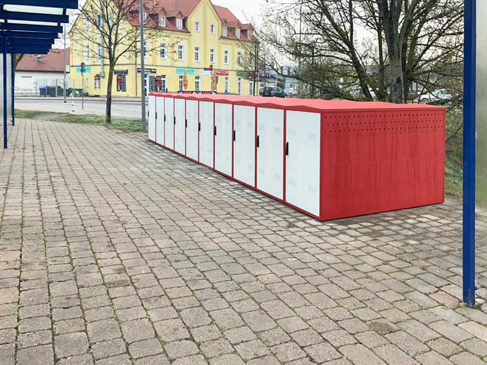 Fahrradboxen in Fürstenwalde/Spree mieten